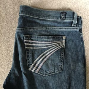 7 for all mankind dojo jeans size 30